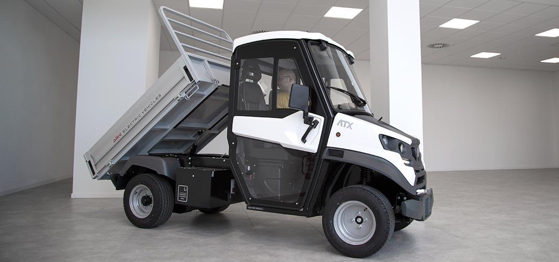 Electric tipper vans Alke' - Industrial Electric Vehicles & Accessories