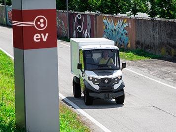 electric van alke atx320e Industrial Electric Vehicles & Accessories