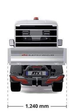 alke atx320e electric vehicles dimensions mobile