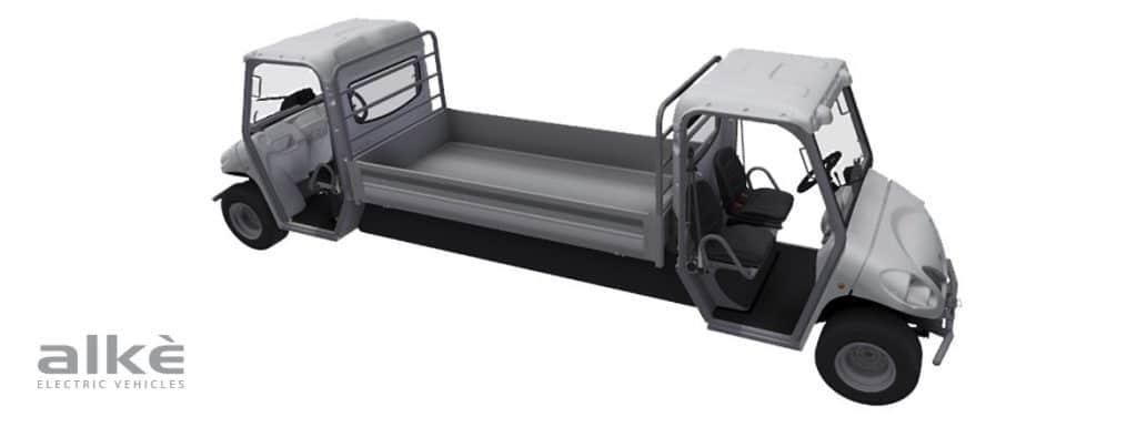 Double cab vehicles tunnels passageways ATX range Alke'