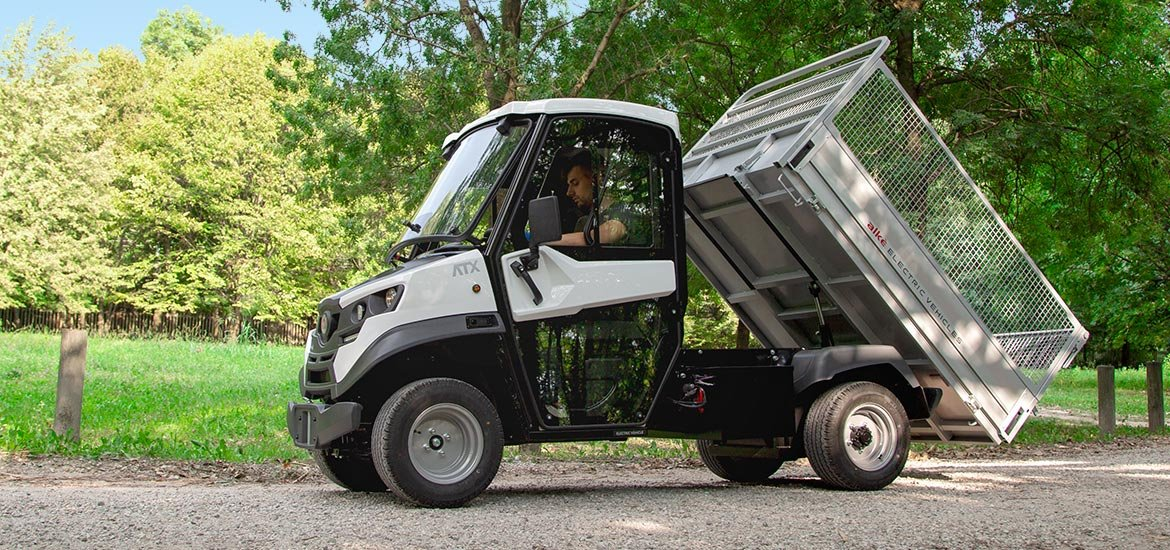 Electric Tipper Vans - Industrial Electric Vehicles