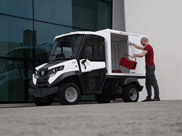 electric utility van alke atx340e Industrial Electric Vehicles & Accessories