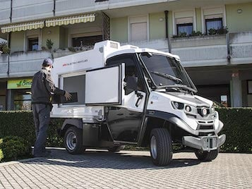 Refrigerated Electric Vans - Industrial Electric Vehicles