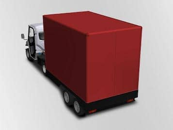 Electric Vans with Semi-Trailer Industrial Electric Vehicles & Accessories