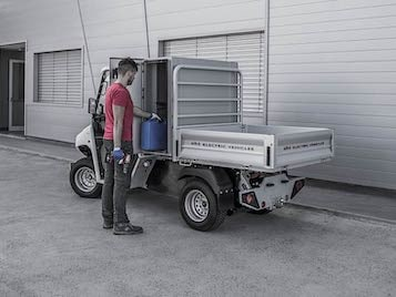 ATXN1201E - Front Storage Box and Cargo Bed - Electric Vehicles