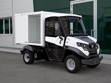 enclosed cargo space atx Industrial Electric Vehicles & Accessories