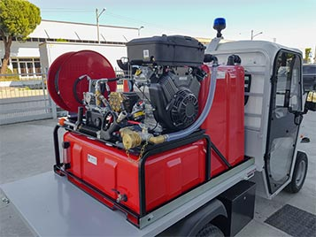 Firefighter Utility Vehicles - Industrial Electric Vehicles