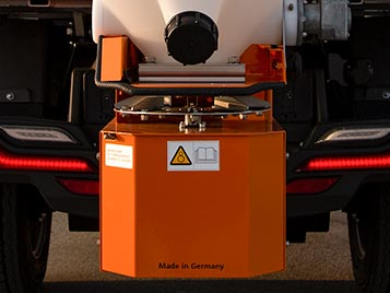 Winter Service Vehicle With Salt Spreader - Industrial Electric Vehicles