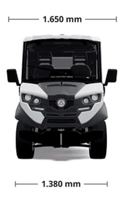 off road electric vehicles alke atx330e dimensions
