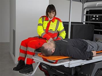 rear passenger seat small indoor ambulance alke Industrial Electric Vehicles & Accessories