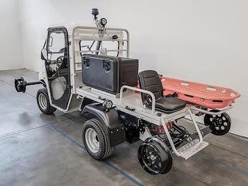 Road rail electric vehicles ATX range Alke'