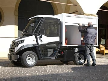 Electric Box Van with Roller Shutters Industrial Electric Vehicles & Accessories