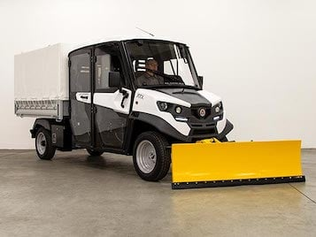 Electric Snow Plow Vehicles Industrial Electric Vehicles & Accessories