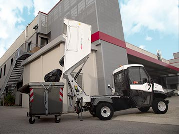 tipping angle waste collection vehicles alke Industrial Electric Vehicles & Accessories