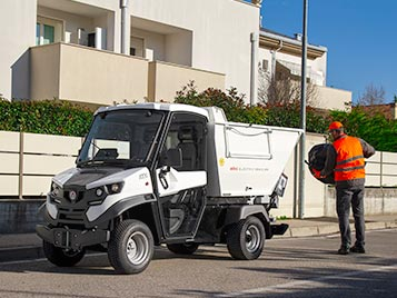 waste transport electric vehicles alke Industrial Electric Vehicles